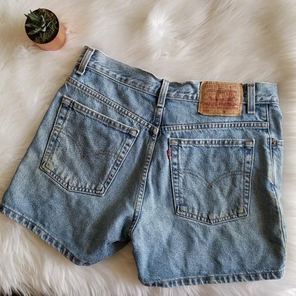 b57bd9f4c7 Levi's Shorts | Vintage Levis 555 Guy Fit High Rise Vtg | Poshmark